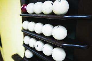 Бильярдные шары в гостинице Седата Игдеджи