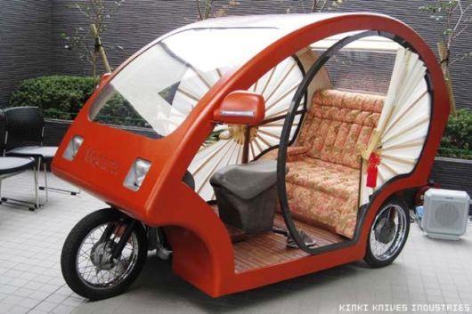 Amazing Japanese Auto Rickshaw Trawel India Mails
