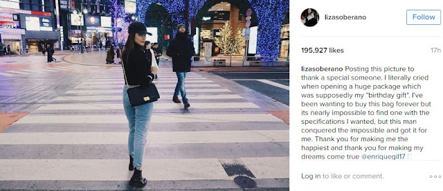 Liza Soberano Cries After Receiving Birthday Present from Enrique Gil