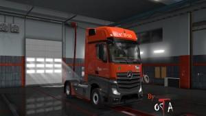 MP4 Vos Logistics Skin