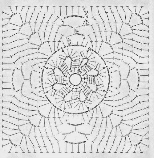 Piastrella Quadrata Alluncinetto