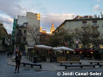Calle del casco antiguo de Valencia