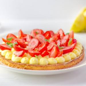 Recette Tarte fraise citron