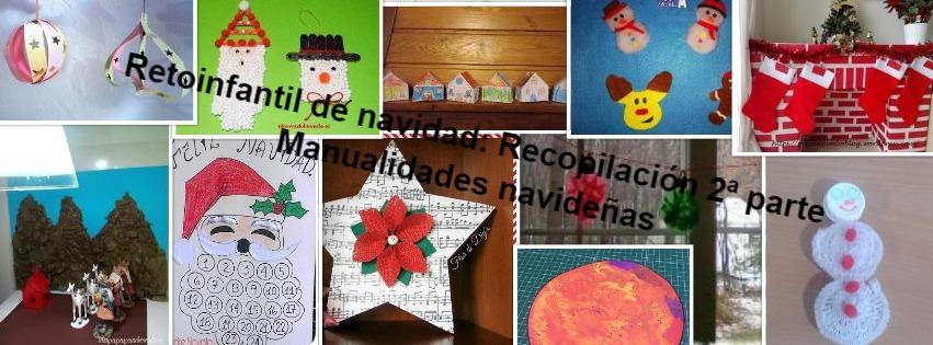 Manualidades con mis hijas 2 parte del retoinfantil - Manualidades navidad 2017 ...