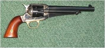 Chuck's Cowboy Shooting Blog: Uberti 1875 Remington Revolver