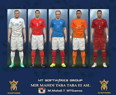 PES 2016 Euro 2016 Kit (PC/PS4) by MT Games 1991