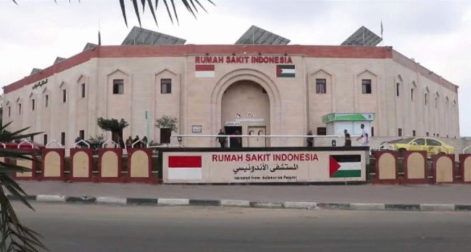 Rumah sakit Indonesia di Palestina terkena serangan Rudal Israel