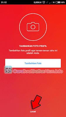 cara daftar instagram di hp android