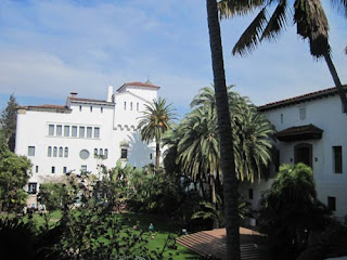 Santa Barbara Courthouse Garden.