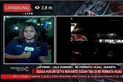Heboh Setya Novanto Kecelakaan dalam Perjalanan Menuju KPK dan Dirawat di RS Permata Hijau