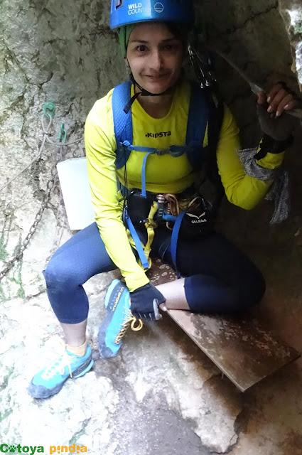 Vía ferrata Pasarela de Espeja en la localidad soriana de Espeja de San Marcelino.