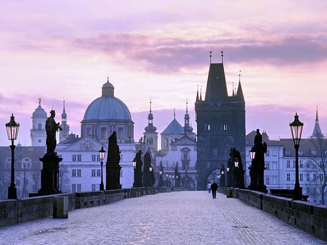 Ponte Carlos em Praga: