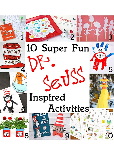 10 Super Fun Dr. Seuss Inspired Activities