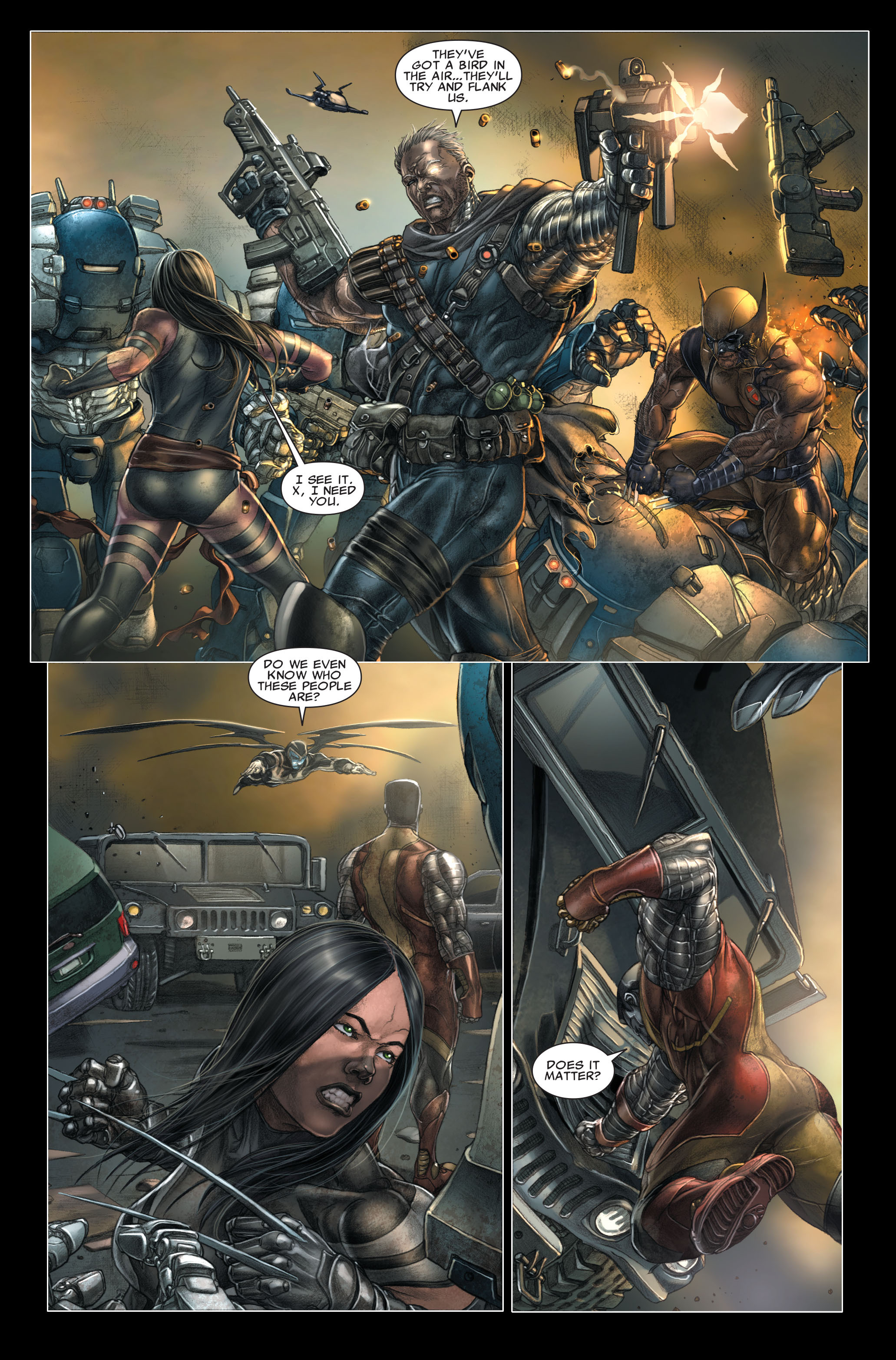 Read online X-Force (2008) comic -  Issue #26 - 9