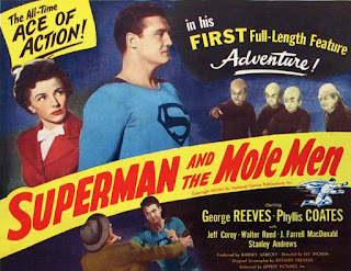 Superman y los hombres topo » Cartel » Superman and the Mole Men