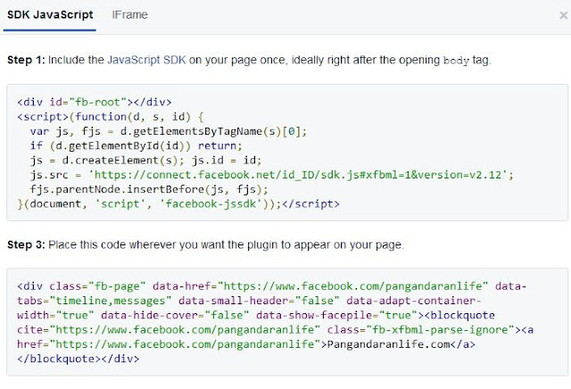 kode javascript dari facebook