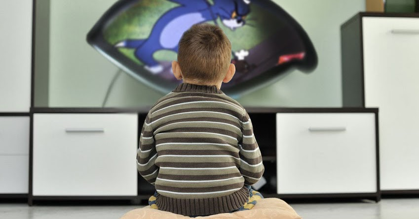 Neues augenförmiges TV-Gerät soll verhindern, dass Kinder viereckige Augen bekommen