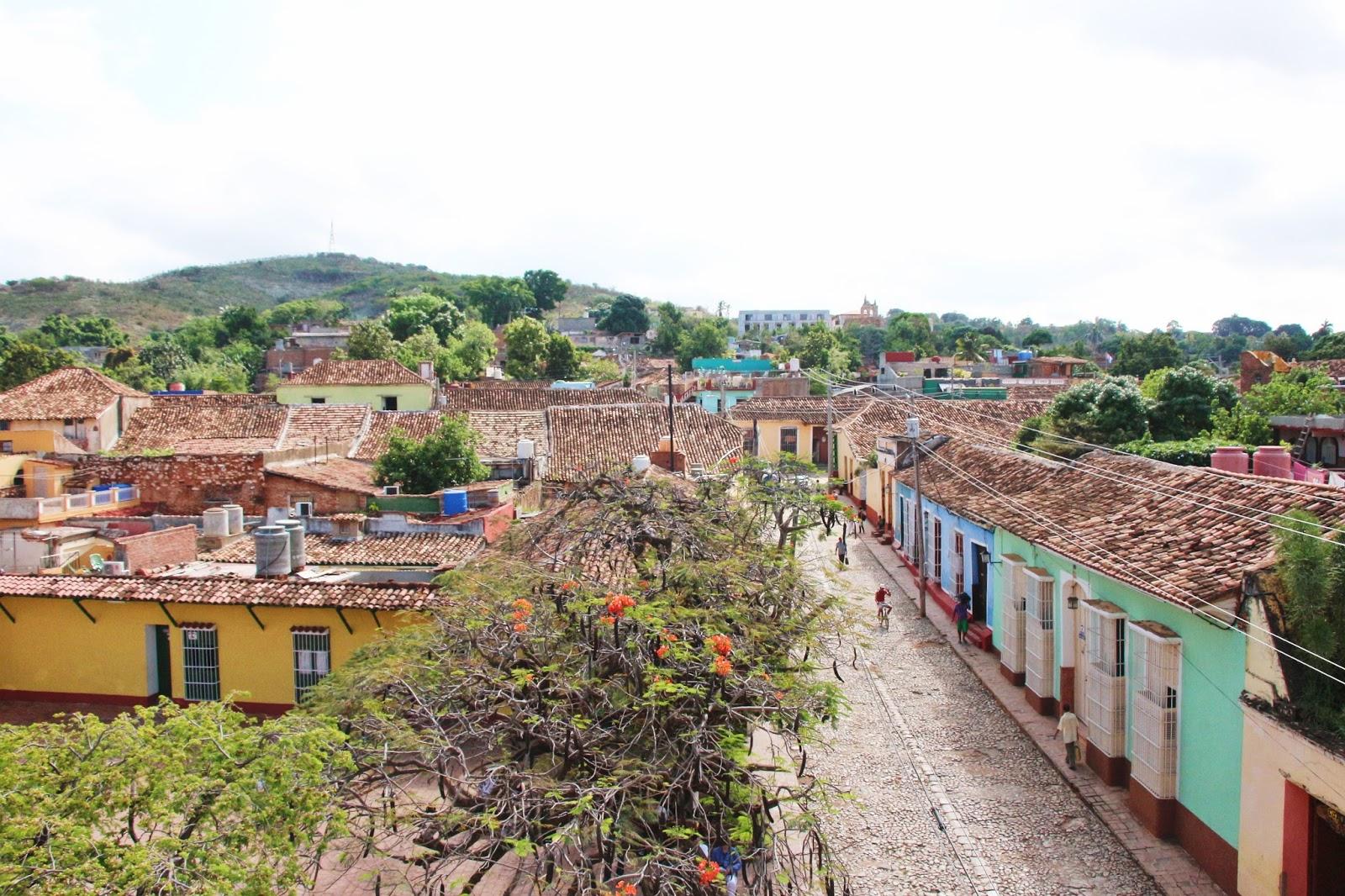 Vue sur Trinidad - Cuba