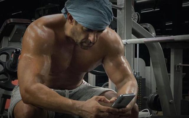 Salman Khan shares the exercise picture, fanatics of Sushant's flare up