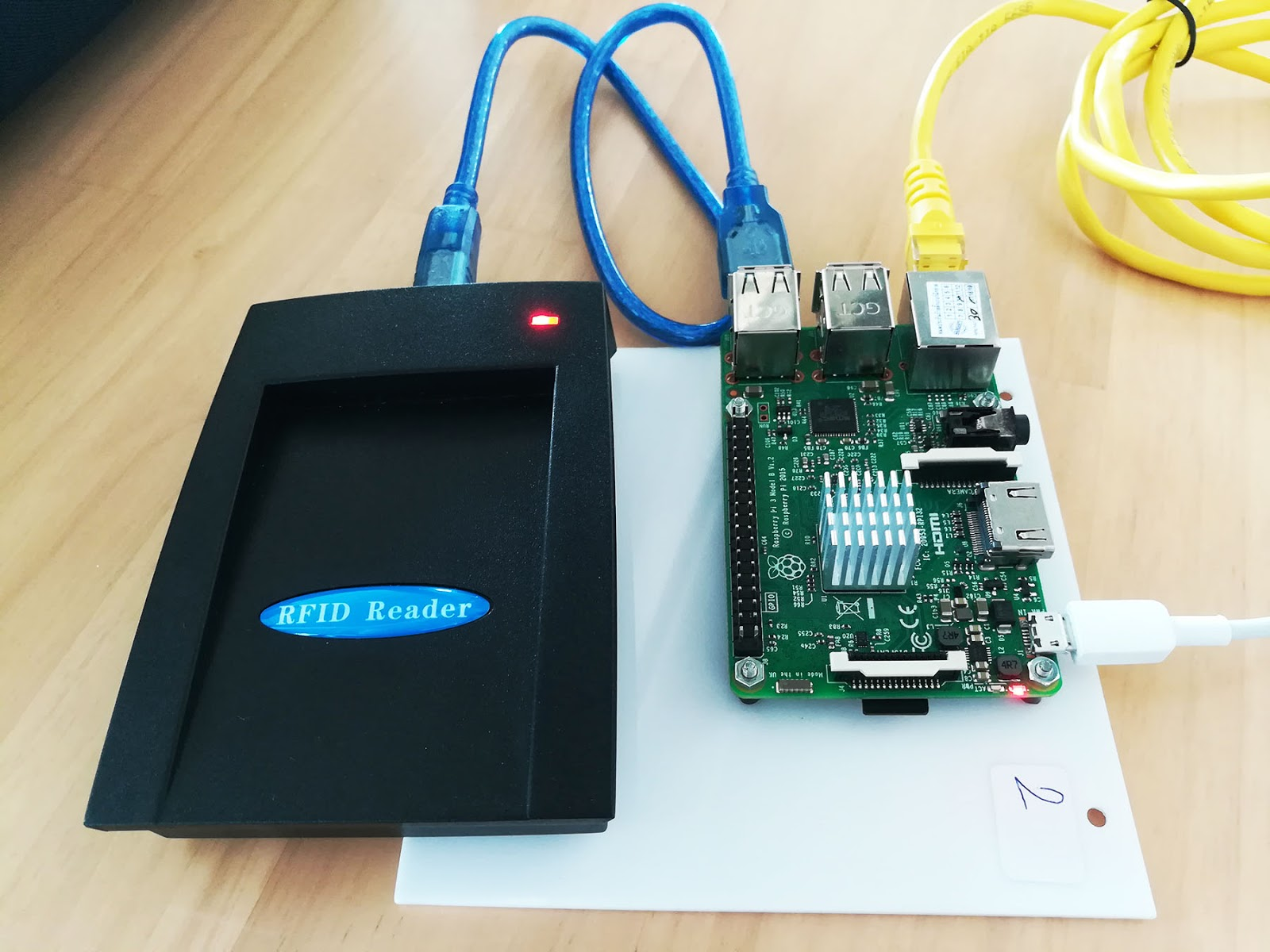 Raspberry Pi Projects: Raspberry pi connect RFID Reader