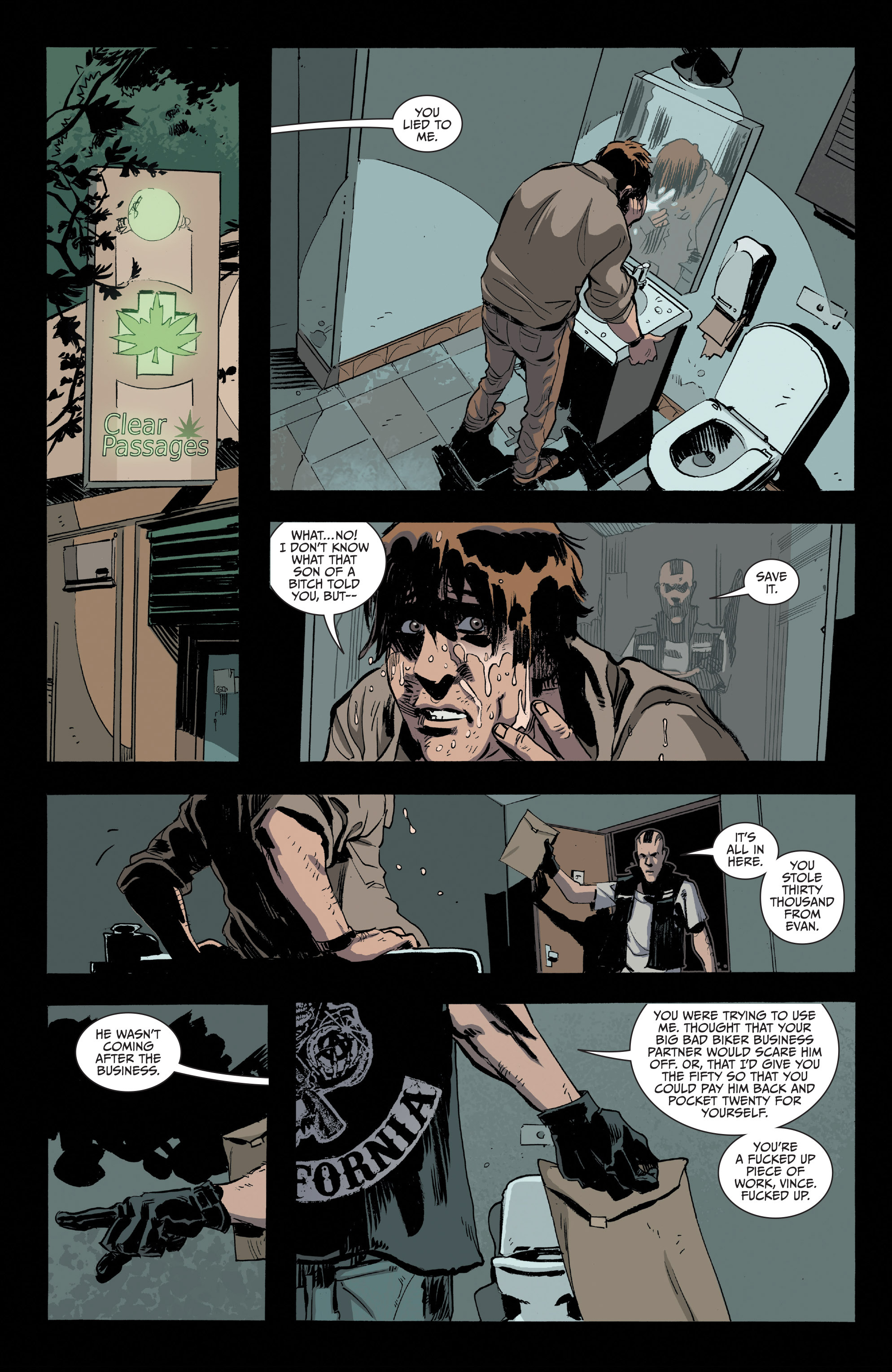 Read online Sons of Anarchy comic -  Issue #16 - 18