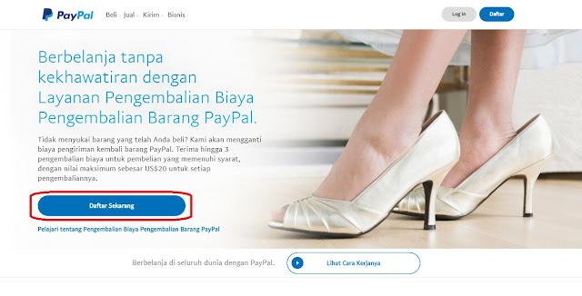 Akun Rekening Paypal Online Gratis.