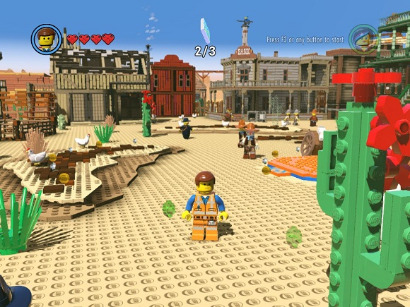 LEGO Movie Videogame PC Free Download Screenshot 1