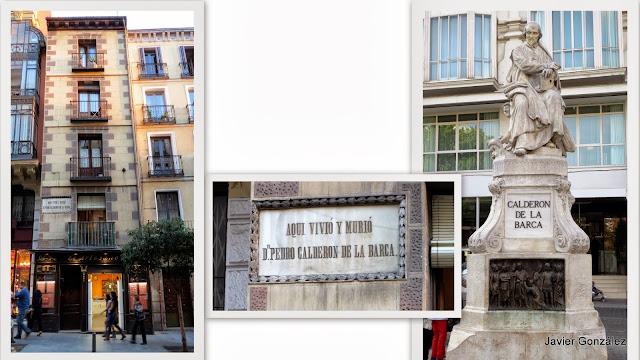 Casa de Calderón de la Barca en Madrid