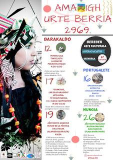 Programa de la semana cultural del año nuevo 'amazigh'