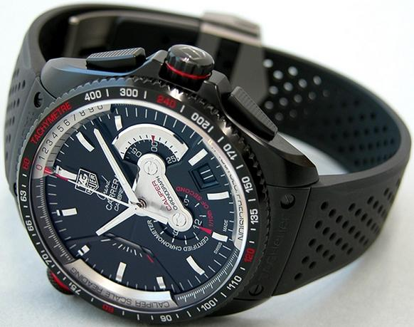 6aff434c199 Replica TAG Heuer Grand Carrera Calibre 36 RS Caliper Watch CAV5185.FT6020