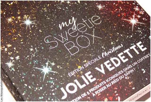 My Sweetie Box décembre 2017 - Blog beauté