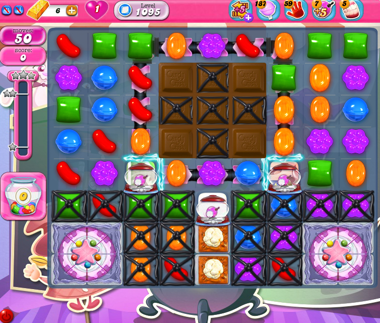 Candy Crush Saga 1095