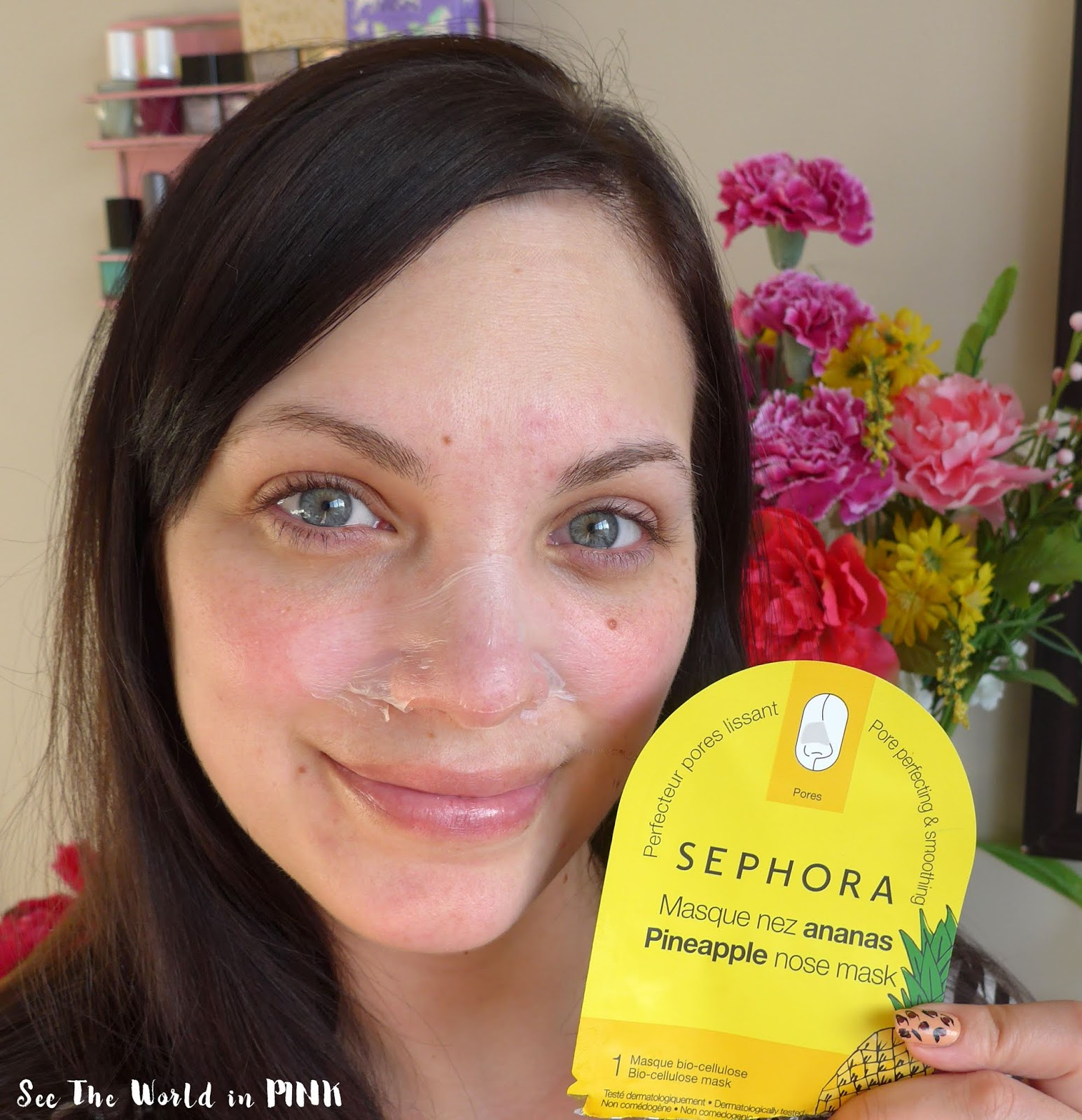 Mask Wednesday - Sephora Collection Pineapple Nose Mask