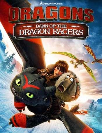 Dragones: Carrera al borde Serie Completa Latino 720p