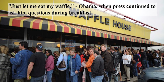 Just let me eat my waffles - Obama. FEMA and The Waffle House Index . marchmatron.com