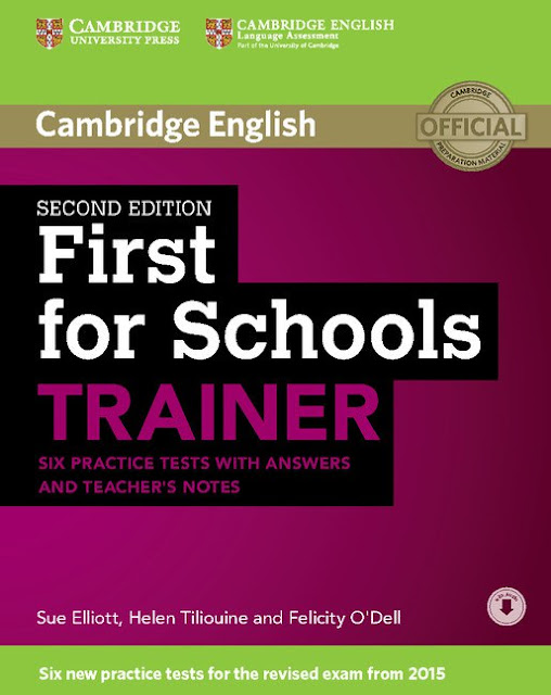 FIRST FOR SCHOOLS TRAINER 2015