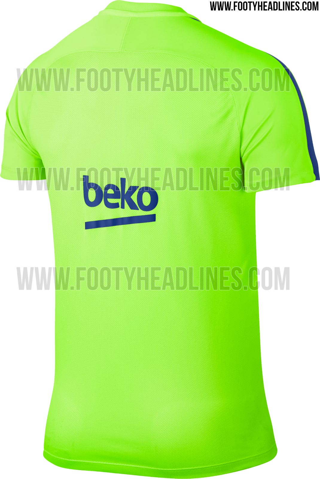 de59b3096 Ghost Green Barcelona 2017 Pre-Match and Training Kits Released ...