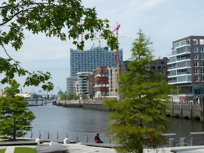 Hamburg, Hafencity, Elbphilharmonie, Gebäude