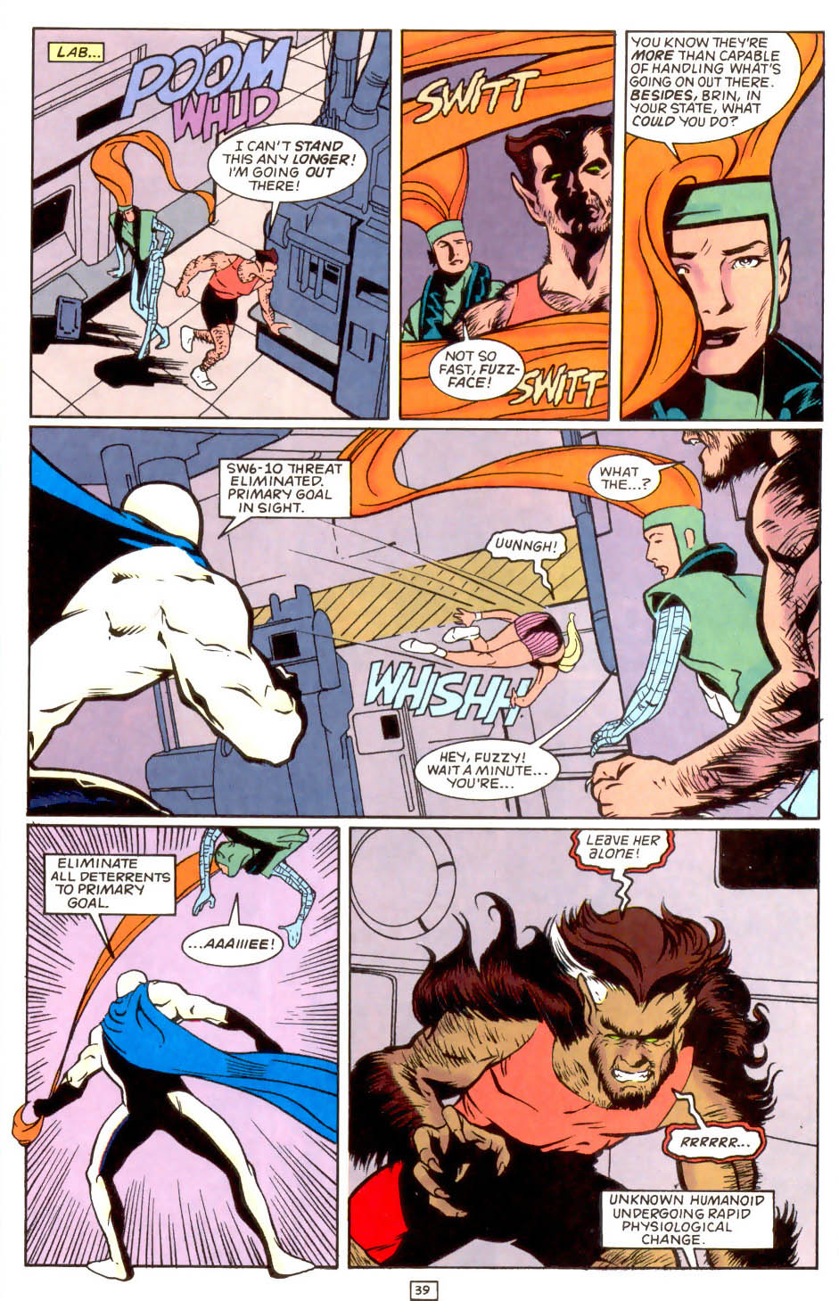 Legion of Super-Heroes (1989) 50 Page 39