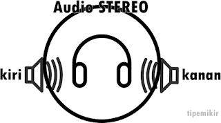 Kiri Kanan Audio Stereo-tipemikir