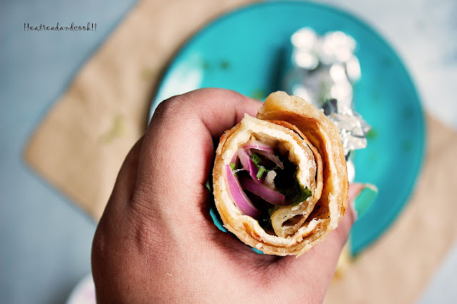 how to make Kolkata Style Egg Roll recipe and preparation