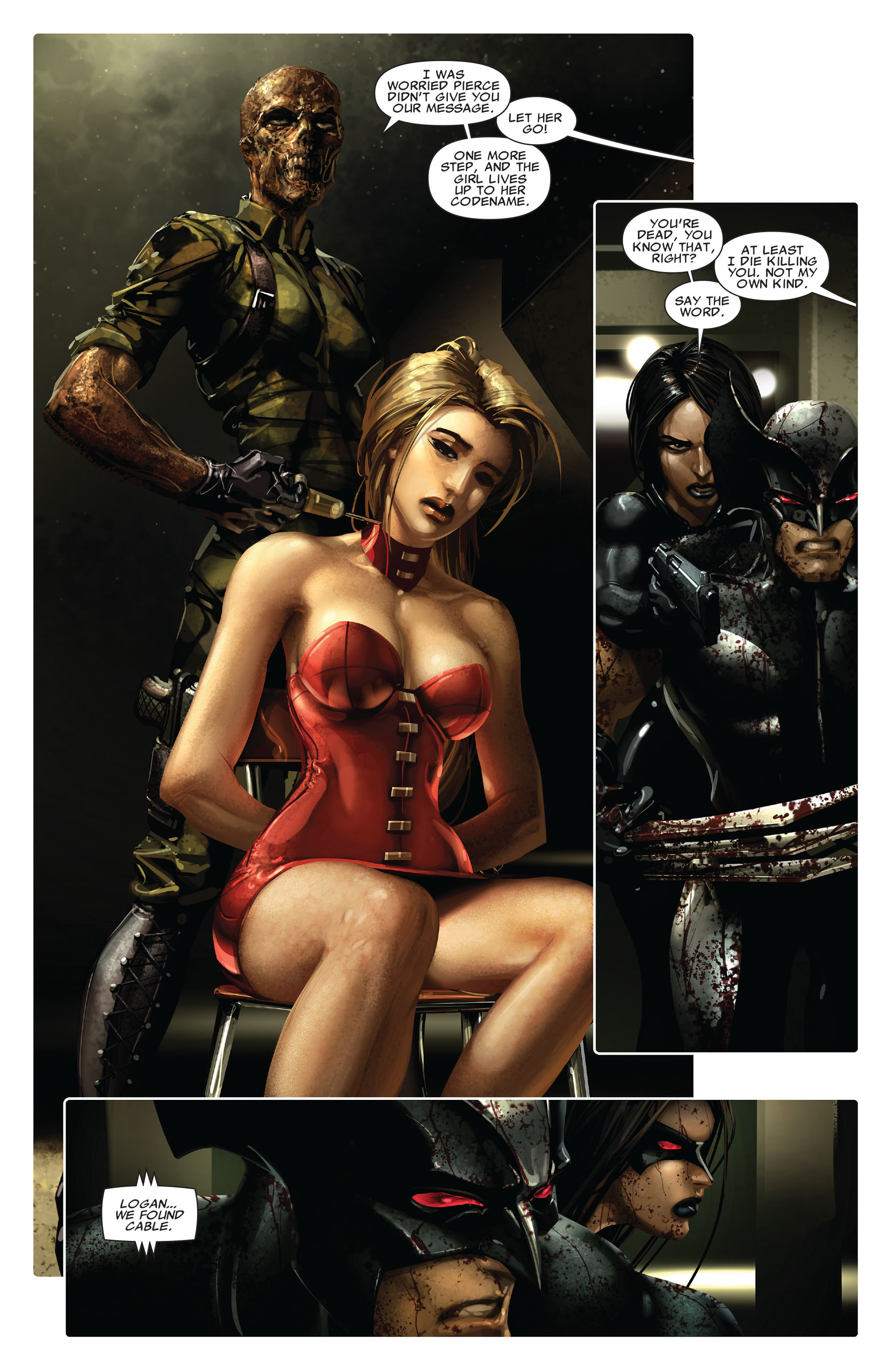Read online X-Force (2008) comic -  Issue #13 - 20