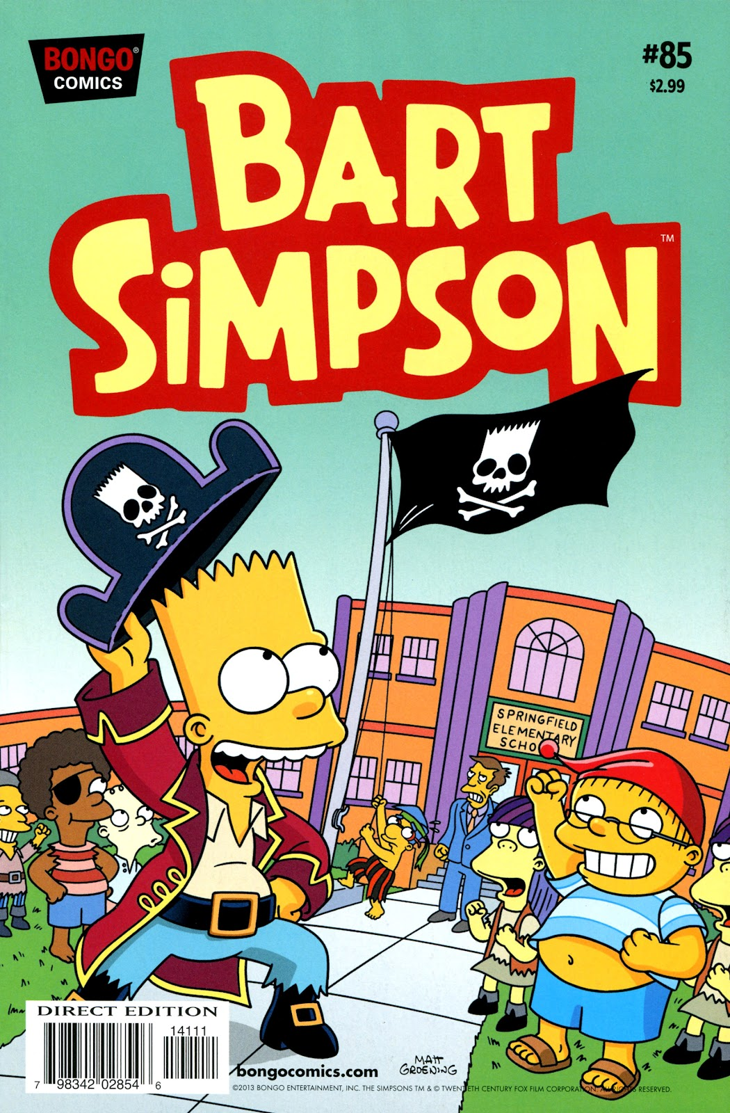 Simpsons Comics Presents Bart Simpson 85 Page 1