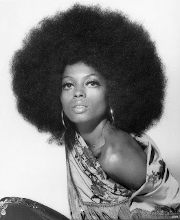 pelo afro Diana Ross