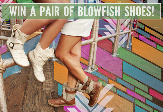 Win Your Choice of Blowfish Shoes from Bubby & Bean!