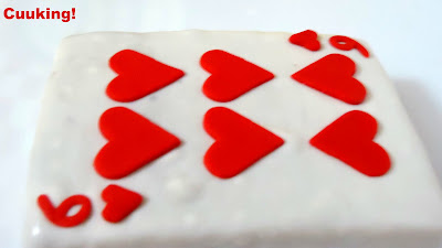 ".Tarta ""Carta de Poker"" (Vainilla y chocolate)"
