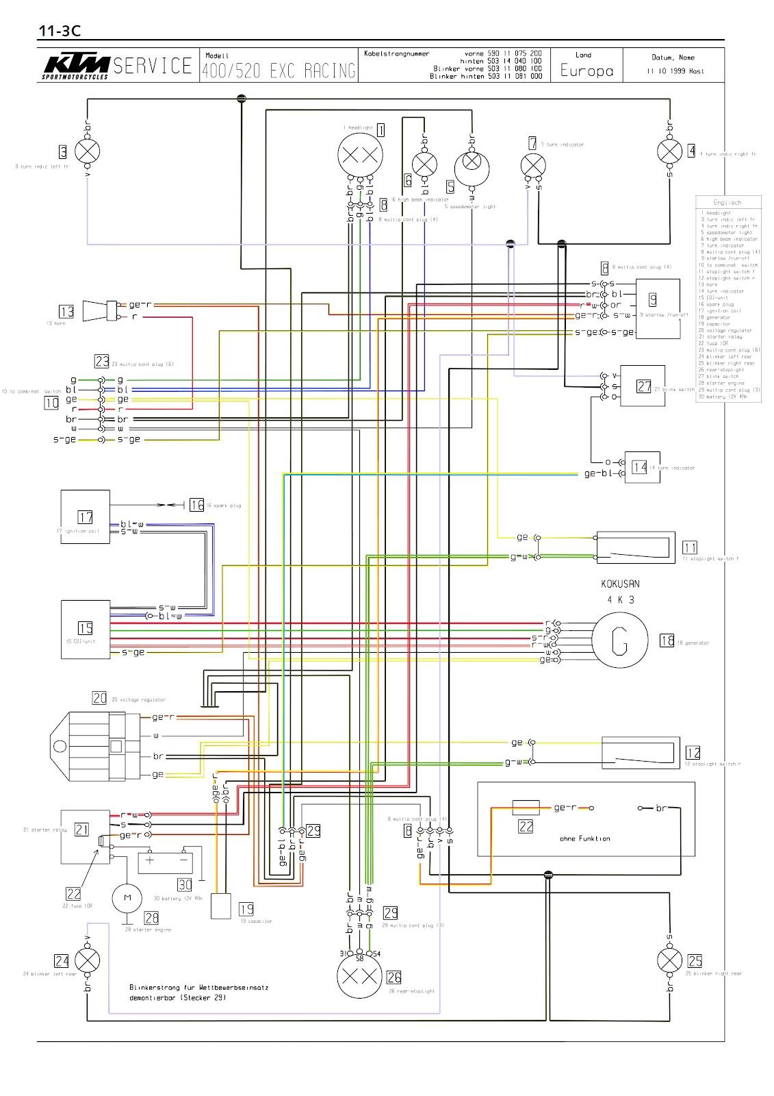 hight resolution of ktm 400 wiring diagram wiring library 2001 ktm 400 exc wiring diagram ktm 400 wiring diagram