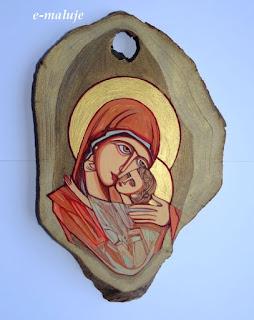 Dobra Madonna, Matka Boża … Ikona Autorska Modlitwą Pisana