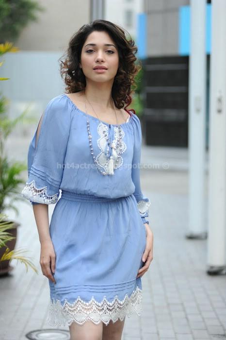 Tamanna latest short hair style