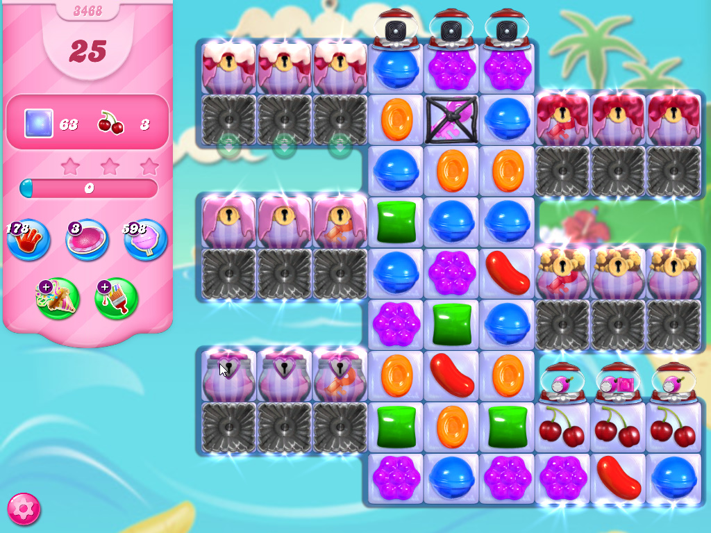 Candy Crush Saga level 3468